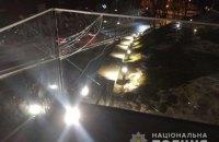 Полицейские привлекли к ответственности киевлянина, который повредил Мемориал Героев Небесной Сотни во Львове
