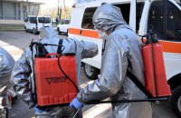 У МВС запевнили, що дезінфекція вулиць цілком безпечна для людей і тварин