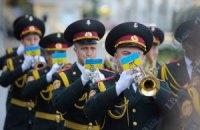 В Черкассах оркестр снова вышел на акцию протеста