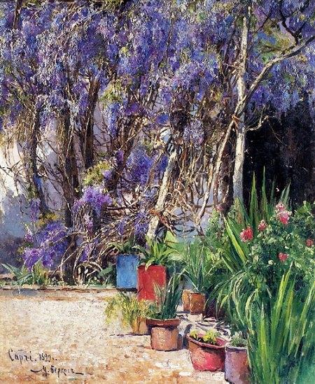 Капрі. 1899. Дерево, олія. 41х34