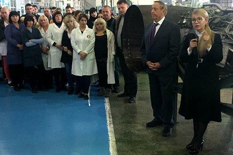 Тимошенко: Украина делает вертолеты на уровне мировых стандартов