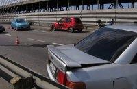 ДТП в Киеве: три машины разбились из-за лихача