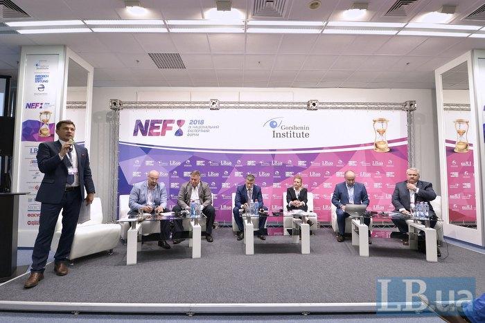 Слева-направо:  Виктор Лях, Валерий Фищук, Анатолий Гиршфельд, Дмитрий Шимкив, Дебора Фейрлем, Валерий Бакал и Петр Матияшек.