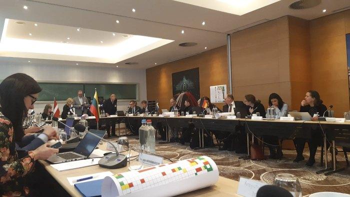 Обмен мнениями по Дунайской Стратегии ( EUSBSR) и процессе включения макрорегиональных стратегий в программу политики сплоченности 2021-2027