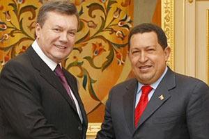 Янукович с удовольствием вспоминает встречу с Чавесом