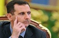 Асад вважає війною те, що відбувається в Сирії