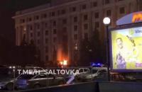 У Харкові вночі підпалили двері обласної адміністрації