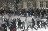 В Петербурге запретили бросаться снежками