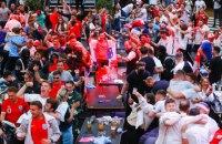 Фанати збірної Англії випили 42 млн пінт пива в день матчу проти України