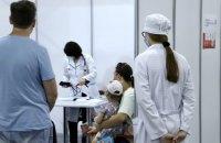 Центр вакцинації на базі столичного МВЦ з 5 липня працюватиме щодня