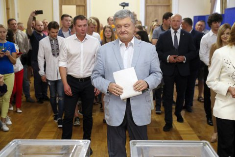 Порошенко: Я проголосував за ЄС і НАТО