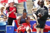 Серена Вільямс розридалася просто на корті у фіналі Rogers Cup