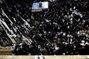 В похоронах израильского раввина приняли участие 250 тыс. человек