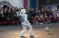 Порошенко в Японии показали робота
