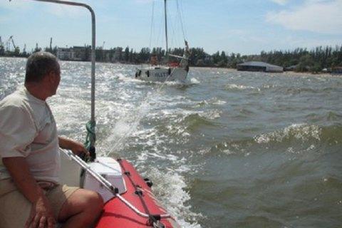 Біля узбережжя Маріуполя зазнала аварії яхта