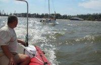 У  побережья Мариуполя потерпела крушение яхта