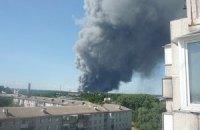 Пожары уничтожили 28 тыс. га киевских лесов