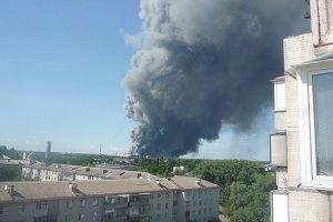 Пожар в Броварах локализировали