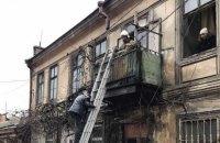В Одессе произошел обвал в жилом двухэтажном доме, людей эвакуировали
