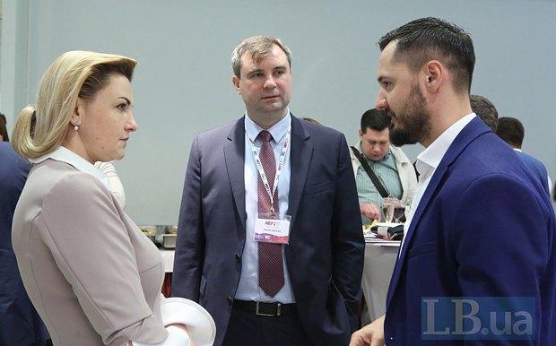 Oksana Prodan, Viktor Sokolov and Roman Opimakh
