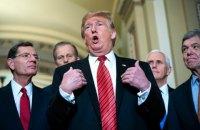 Трамп відмовився давати покази в Сенаті у справі про імпічмент