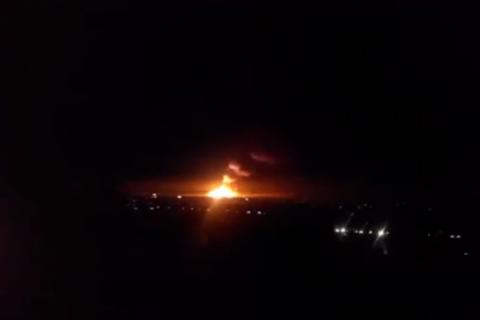 На складах с боеприпасами в Сватово прекратились взрывы