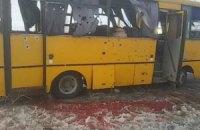 Росія звинуватила сили АТО в обстрілі автобуса біля Волновахи