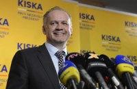 Президент Словакии посетит Украину в мае