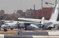 В аэропорту столицы Судана столкнулись Ан-32 и Ан-26