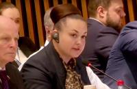 """Российская депутатка заявила, что """"невооруженным взглядом"""" видела из космоса обстрелы Донбасса украинскими военными"""
