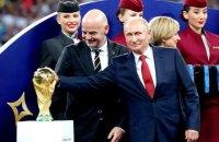 Чемпіонат світу з футболу: гри поза політикою не вийшло