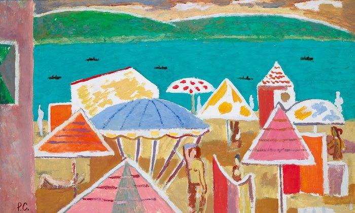Роман Сельський. Пляж. 1960-ті. Зібрання галереї «Білий Світ»
