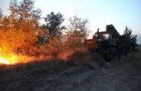 Під час гасіння пожежі на Луганщині загинув військовий