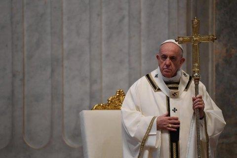 Ватикан відмовив Помпео в аудієнції у Папи Римського