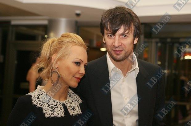 Александр Шовковский с супругой