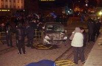 В машине, въехавшей в толпу людей в Луганске, нашли два шприца