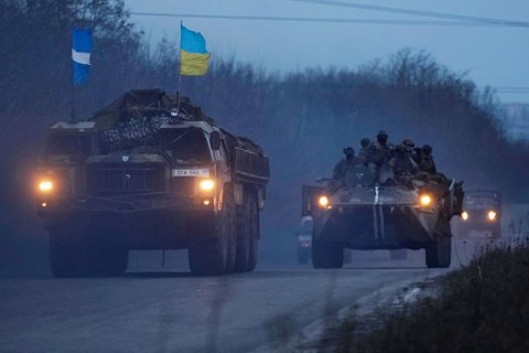 В Донецкой области начался отвод вооружения с обеих сторон