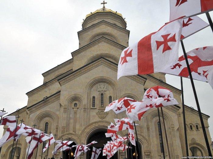 Собор Цминда Самеба - главный кафедральный собор Грузинской православной церкви