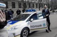 Яценюк и Аваков протестировали патрульный автомобиль