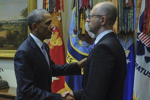 Зустріч Обами і Яценюка була незапланованою, - NYT