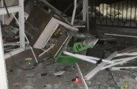 В Харькове ночью неизвестные взорвали два банкомата