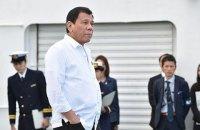 """Філіппінський сенатор закликала зупинити """"соціопатичного серійного вбивцю"""" Дутерте"""