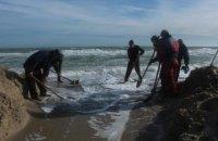 В Одеській області вручну з'єднали лиман з морем