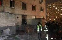 В Киеве из-за пожара эвакуировали 30 жильцов дома на Оболони