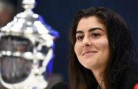 Чемпіонка US Open-2019 відмовилася захищати титул у 2020 році