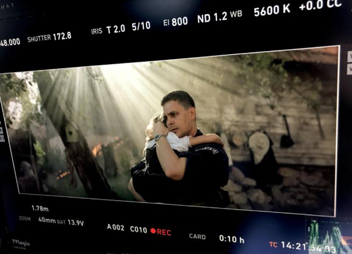кадр из фильма «Балканский рубеж»