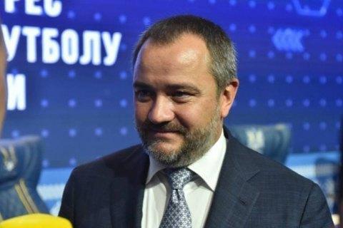Павелко вылетел в Рим на переговоры с УЕФА относительно формы сборной Украины по футболу