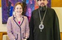 Митрополит Епіфаній зустрівся з послом США Йованович