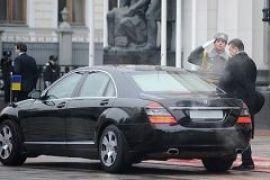 МВД: журналистам не могут запретить снимать кортеж Януковича