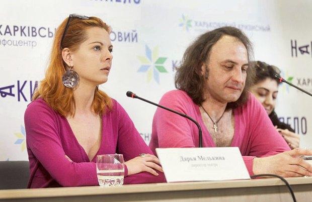 Дарія Мєлькіна і Олексій Коломійцев